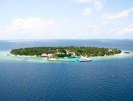 Расположение на Мальдивах острова Бандос